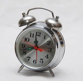 Alarm Clock with Loud Bell