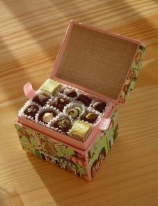 Fantastic box of chocolates