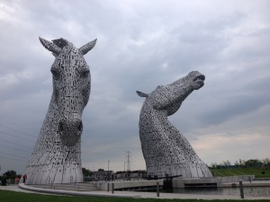 Picture of the Kelpies at Falkirk