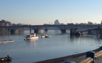 Thames River at Putney